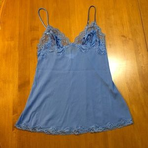 Victoria's Secret blue lingerie